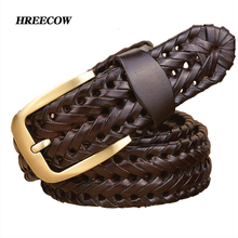 New Braided Leather Men