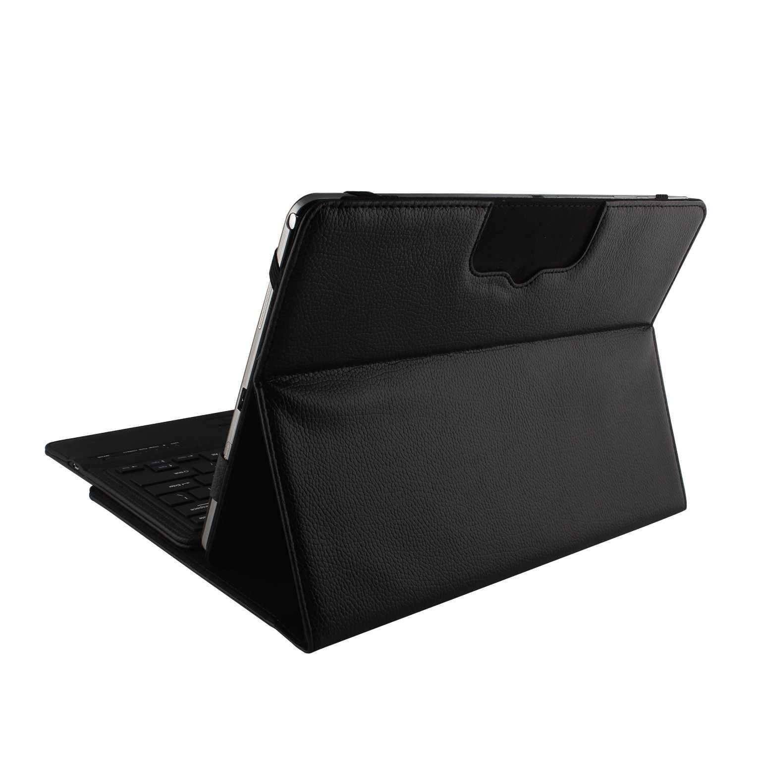 Para Microsoft Surface Pro 6/Pro5 funda de teclado Bluetooth inalámbrica para Surface Pro 3 4 tableta tapa de soporte capa + Stylus