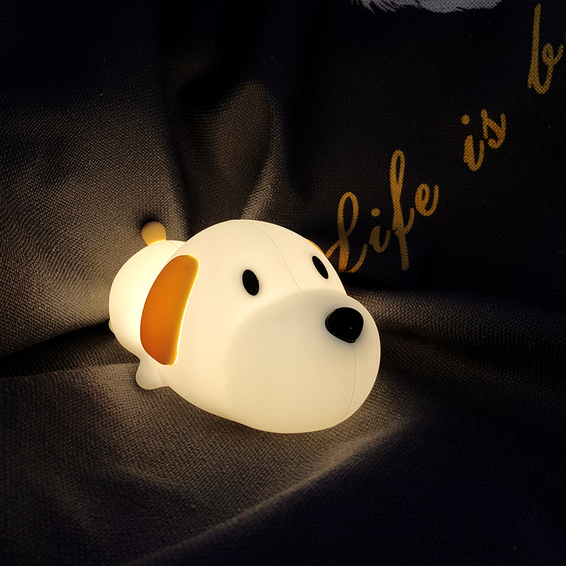 Рождественский подарок, сенсорные светодиодные фонари, креативный подарок на день рождения, кролик, детский микро пейзаж, ночник - 5