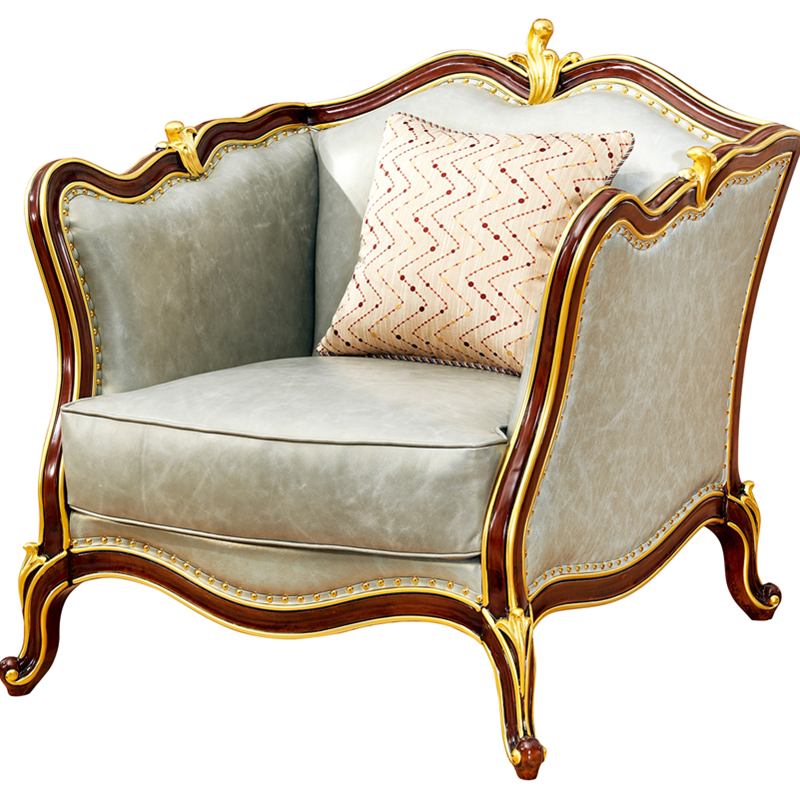 High Quality Furniture Baroque Sofa 7 Seats For Living