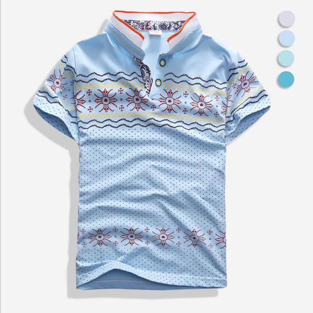 Envío gratis, 2016 del verano niños del muchacho de moda de la marca T-shirts
