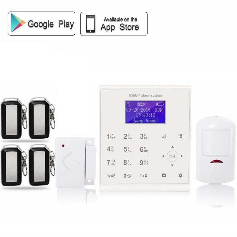 QOLELARM Spanish wifi gsm home alarm systems security home with wi fi IP camera 720p HD