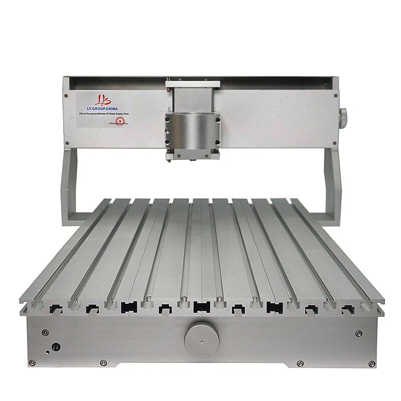Alta Qualidade CNC Quadro 3020 3040 6040 Estrutura Da Máquina do CNC Kit Router Parte de Moagem De Madeira de Luxo Com Motor De Passo Para DIY Hobby