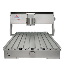 Высокое качество CNC рама 3020 3040 6040 рама станка с ЧПУ комплект роскошный фрезерный деревянный маршрутизатор часть с шаговым двигателем для DIY хобби