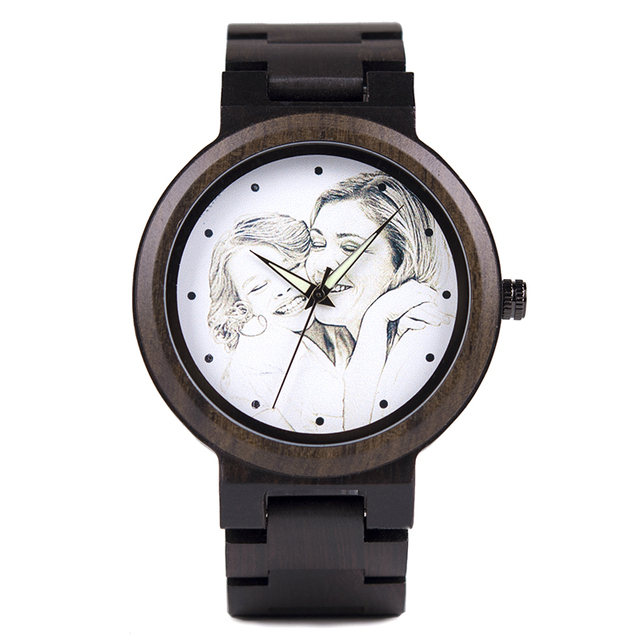 Personality Creative Design Wooden Watch