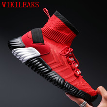 high top mens white sneakers casual shoes men breathable mesh trainers man espadrilles chaussure