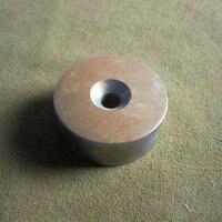 Atacado magnet 50*20mm Rare Earth Neodímio Ímã Forte Bloco 1 Countersunk Buraco 50mm x 20mm com furo