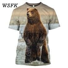 Sweat-shirt à la mode pour hommes Printemps 3D manches courtes T-shirt