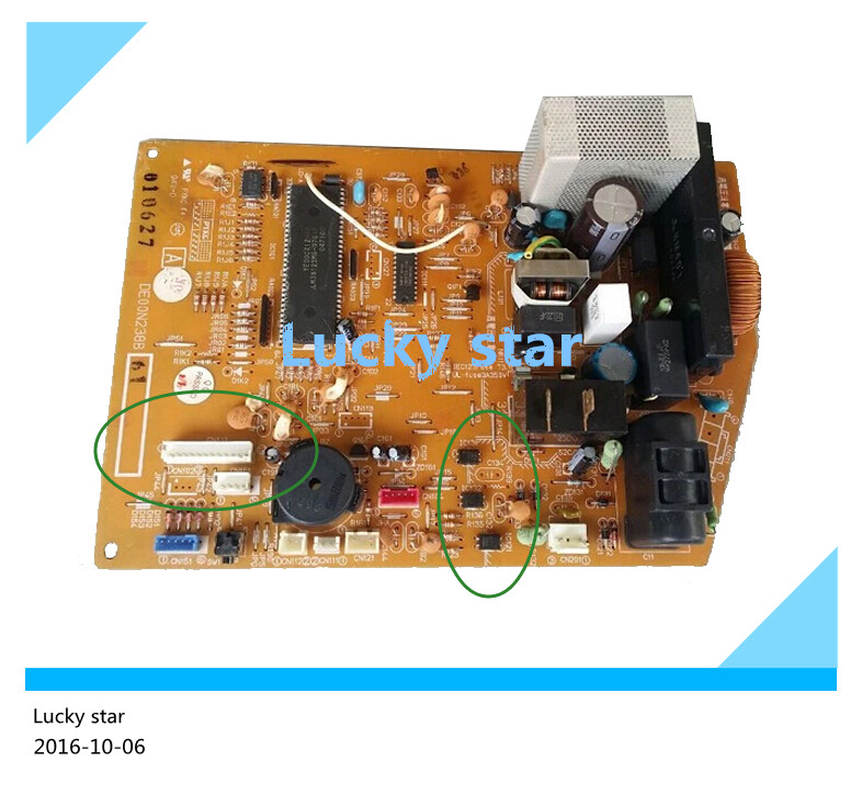 95% new for Air conditioning computer board circuit board MSH-J18SV DE00N238B SE76A766G01 good working