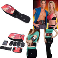 Ab Tronic X2 Dual Fitness Belt , Slimming Belt, Vibration Belt,Slimming Vibrating Fitness Belt Release Muscles Exercise