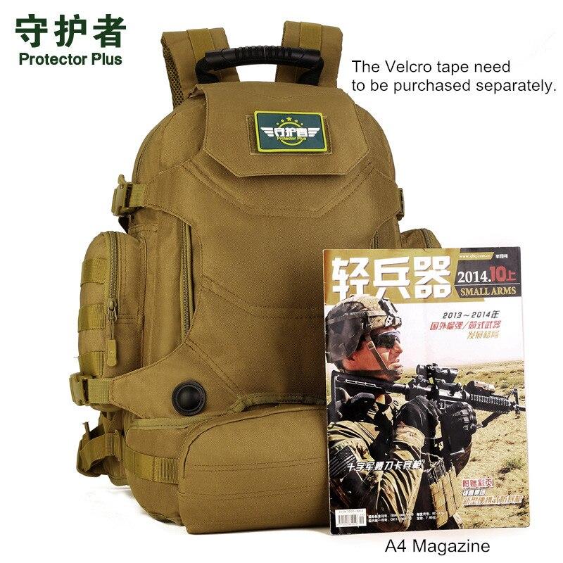 Hot unisexe 40L multi-fonction Camouflage sac à dos tactique militaire en Nylon taille Pack imperméable à l'eau en plein air voyage randonnée sacs - 6