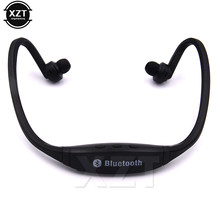 Hot Sale Universal Sport Stereo Handsfree Wireless Bluetooth Headset Earphone Headphone Micro Music Player for all phones(China)