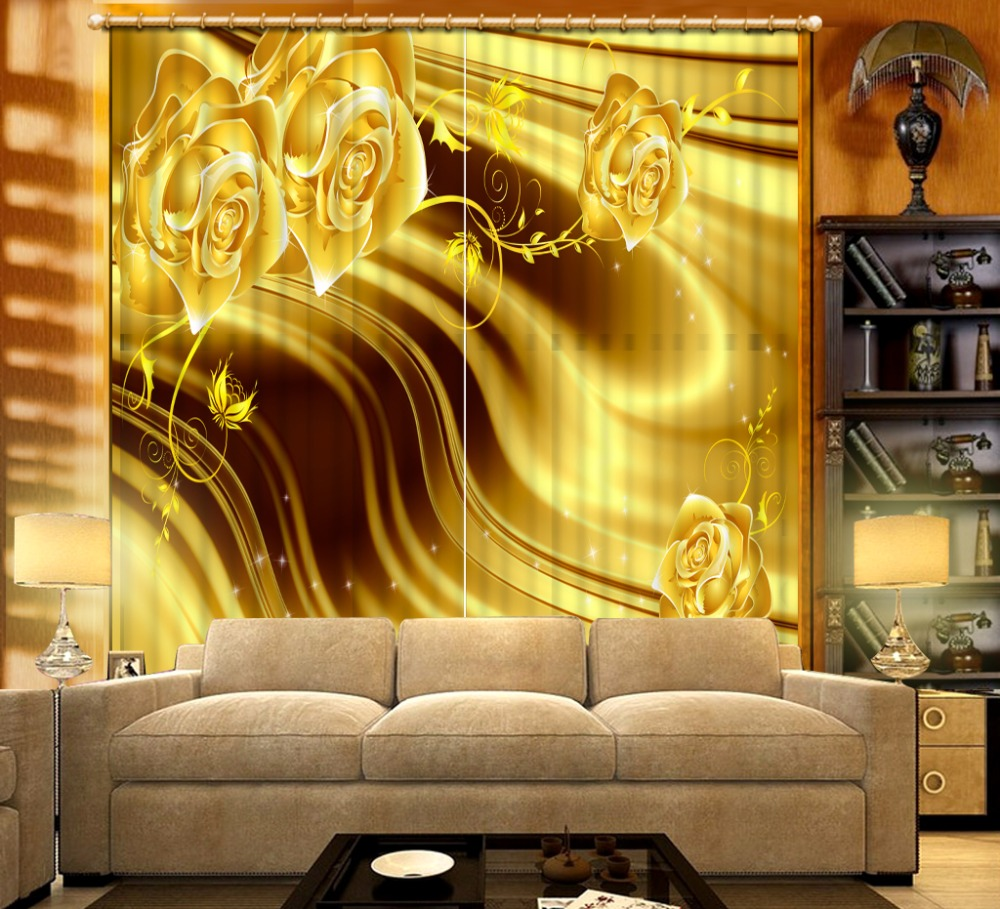 Compare Prices on Luxury Gold Curtains Living Room- Online ...