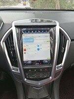 LaiQi 10.4 Quadcore Car DVD player 1280x768 Vertical Screen 32GB ROM Stereo GPS Navigation Radio for Cadillac SRX ATS XTS CTS