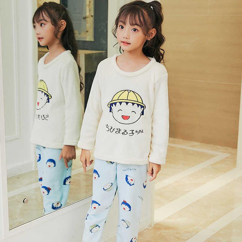 Подробнее Обратная связь Вопросы о Зимняя детская флисовая Пижама ... 645c342a4cd9a