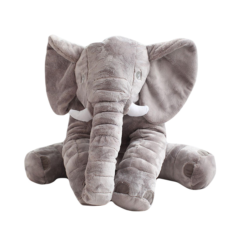60cm Baby Animal Plush Elephant Style Doll Stuffed Elephant Plush Pillow Kids Toy for Children Room Bed Decoration Toys