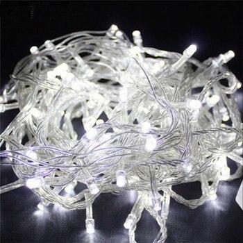 Siccsaee 10m 100 led string garlan
