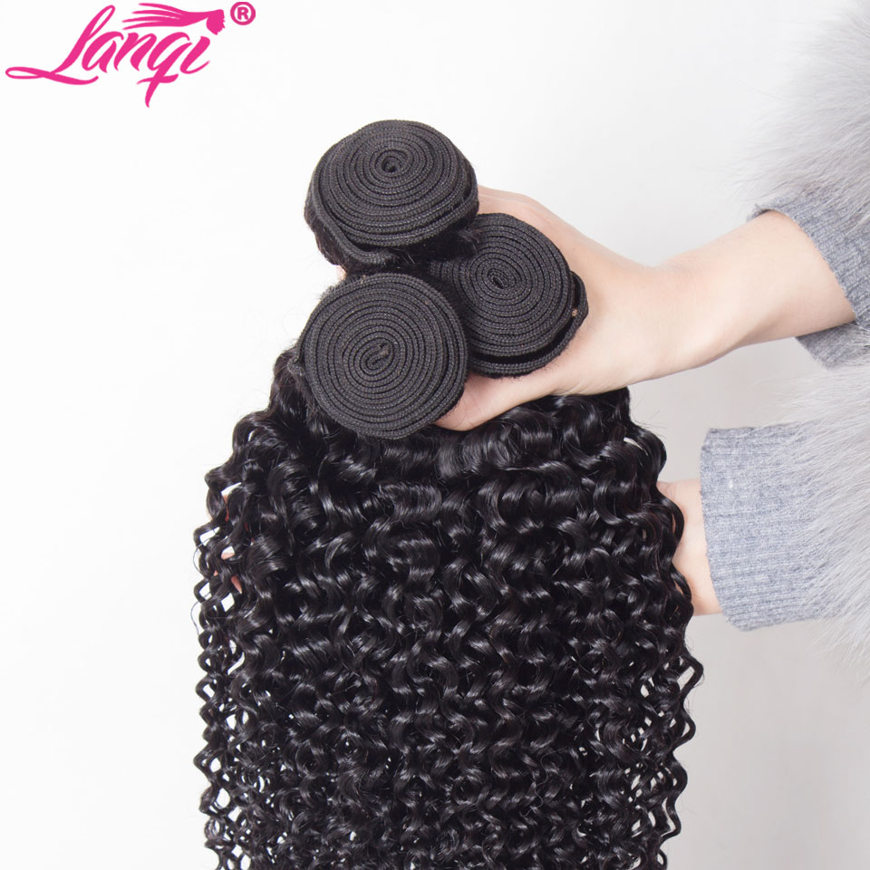 kinky curly bundles with closure brazilian hair weave bundles with closure non remy Peruvian human hair bundles with closure