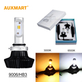Auxmart 7HL Car Headlights 9006 HB4 LED 50W/set 4000LM Auto Front Bulb Single Beam Automobile Headlamp 3000K 6500K Car Lighting