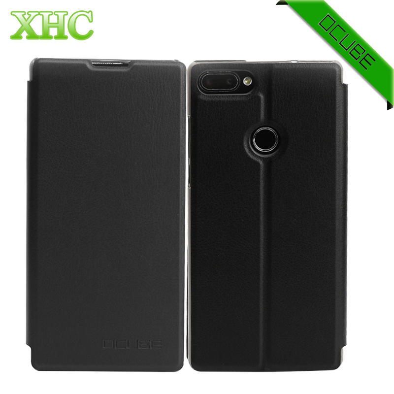 OCUBE Vernee Mix 2 Cases Horizontal Flip Leather Case with Holder for 6.0inch Vernee Mix 2