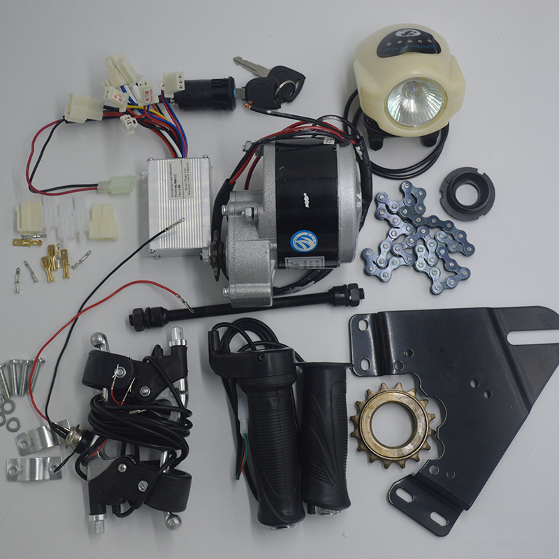 DIY 22 28 wheel 24V 350W DC Brush Motor electric motors for bikes,electric bike kit , electric bike conversion kit