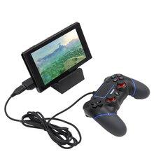 100 PCSFor/PS3/PC/PS4/XBOX ONE/WII-U/Adaptador Sem Fio Bluetooth Controlador para Nintendo interruptor Conversor Gamepad para PS3/PC
