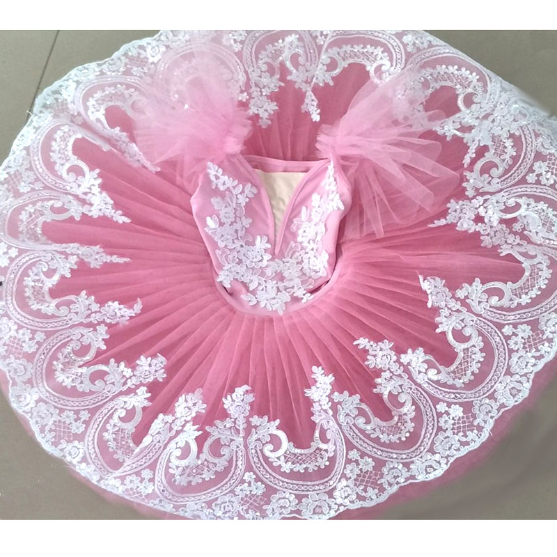 girls-font-b-ballet-b-font-tutu-dance-dress-kids-child-fluffy-tutus-pink-black-spandex-dance-leotards-platter-pancake-font-b-ballet-b-font-tutus