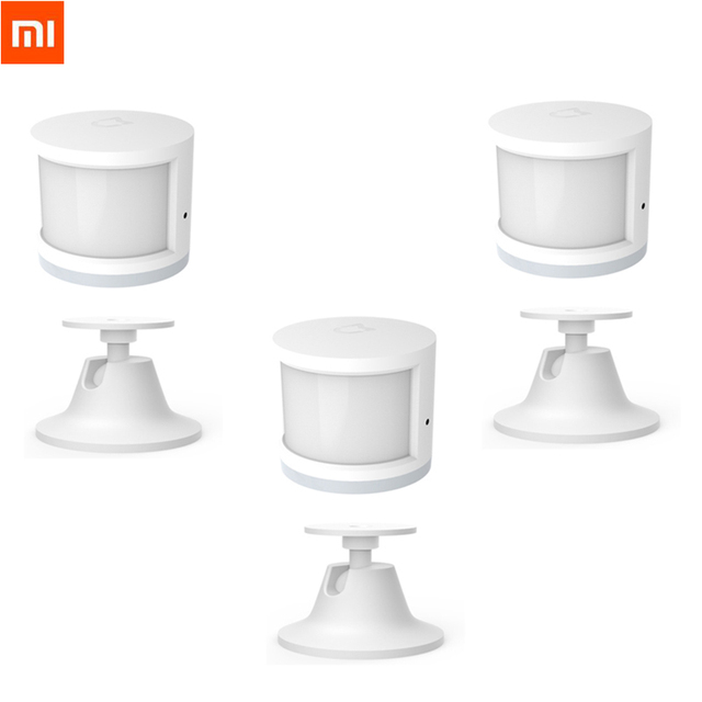 Original Xiaomi Human Body Sensor Magnetic Smart Home Super Practical Device Smart Intelligent Device with Rotate Holder Option