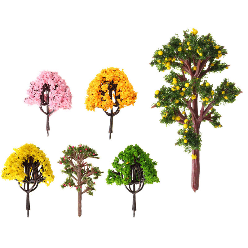 New Arrival DIY Potted Miniature Tree Plants Fairy Garden Accessories  Ornament Decor Micro Landscape Garden Display Materials In Figurines U0026  Miniatures From ...