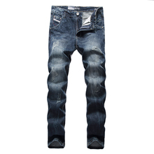 New Fashion Designer Brand Dsel Men Jeans Straight Slim Zippers Biker Men Jeans Skinny Denim Ripped