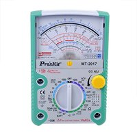 Proskit MT 2017 AC DC LCD Protective Function Analog Multimeter