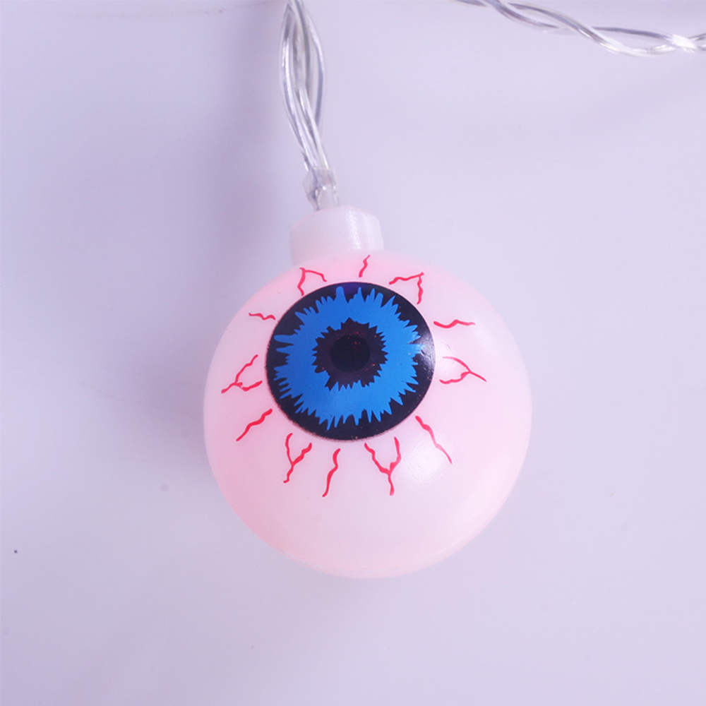 Husuyuhu Fairy Lights Led Halloween Decorative Eye Eyeball Shape