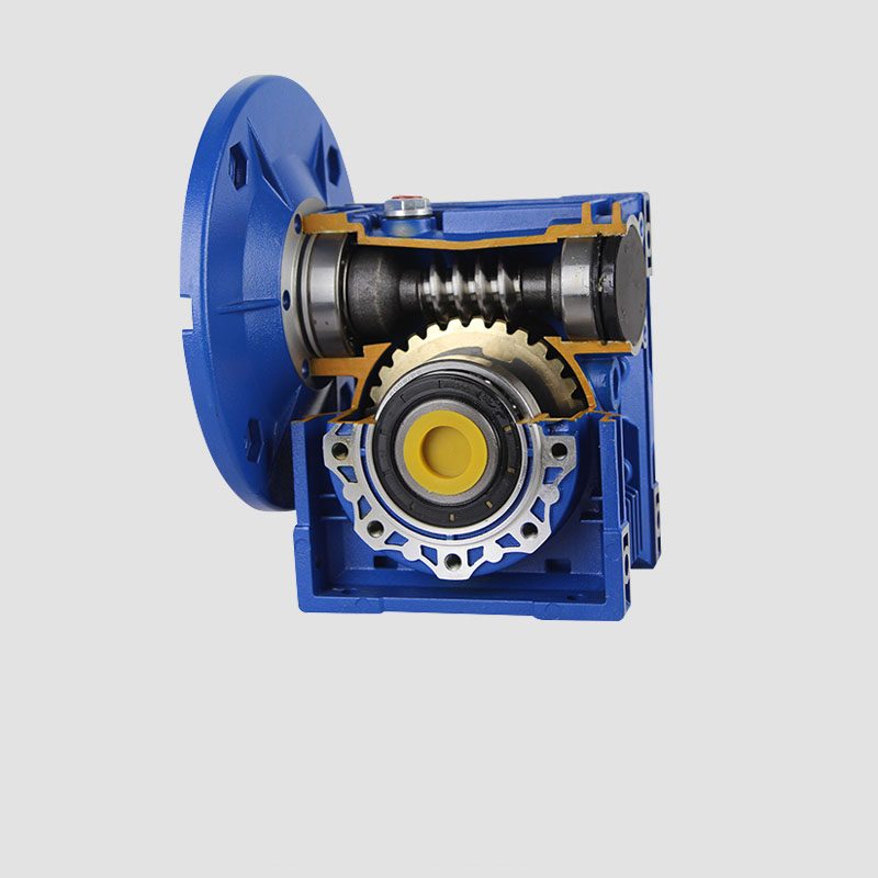 ФОТО NMRV063 30:1 Worm Gear Reducer 25mm Single Output Shaft 3 Phase 380v Single/2 Phase 220v 4 Pole 2400RPM 550w Asynchronous Motor