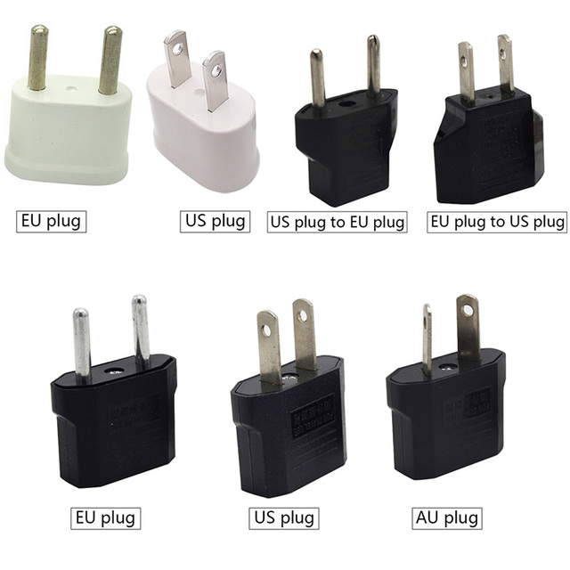 AU EU US Plug Adapter AC/DC Adapter Travel Power Adapter Electrical Power Charger Sockets Adapter High Quality Power Converter