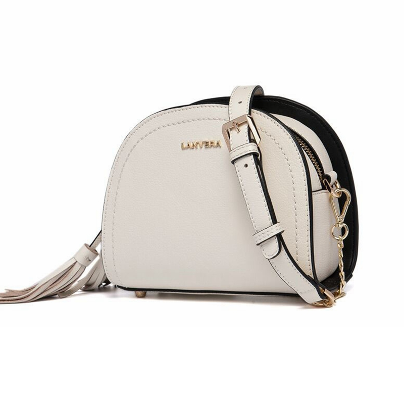 Women Shoulder Bags Genuine leather 2017 New Fashion Tassel Handbag Small Shoulder Messenger Bag Saddle Female Lady's Bags 100% genuine leather women bags luxury serpentine real leather women handbag new fashion messenger shoulder bag female totes 3