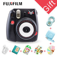 Натуральная Кумамон Fuji Fujifilm Instax Mini 8 Камера Мгновенной Печати регулярным фильм снимок съемки фотографий
