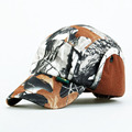 Brand Fitted classic Baseball Shade Cap Casual Tree camouflage Bionic thermal Outdoor Sports Snapback Gorras Polo navy US Hats