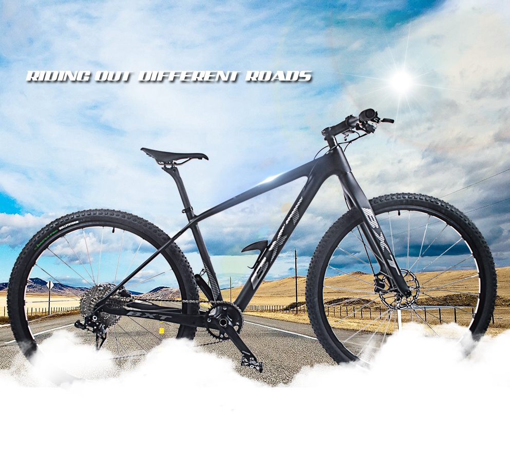 "HTB12dnaXc vK1Rjy0Foq6xIxVXak - BXT 29inch carbon fiber Mountain bike 1*11 Pace Double Disc Brake 29"" MTB Menbicycle 29er wheel S/M/L body full bike"