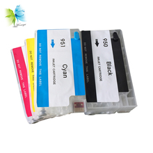 Winnerjet Refillable Ink cartridge replacement for HP 950 951 for HP officejet Pro 8100 8600 pro8610 printers стоимость