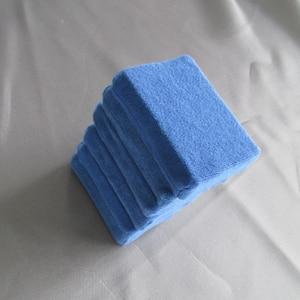 Image 5 - Éponges en microfibre pour nettoyage de voiture, tampons de polissage pour cire à main, 8 pièces/lot