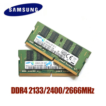 SAMSUNG DDR4 RAM 4G 8G 16G Laptop Memory RAM 2133 2400 2666MHz 1.2V DRAM Stick for Notebook laptop 4GB 8GB 16GB RAM