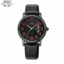 IBSO BOERNI  Women's Oval Dial Imported Movement Analog Wrist Watch with Waterproof & Leather Band 3860