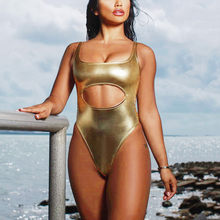 b4cf62b5045 (Ship from US) Women One Piece Swimsuit Sexy Bikini Set Swimwear Push-Up  Padded Bright Skin Bra Swimsuit Beachwear Bodysuit Monokini Push Up