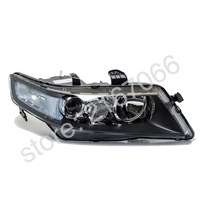 Headlight Right for HONDA ACCORD 2005 2006 2007 2008 Headlamp Passenger Side for electric leveling Halogen