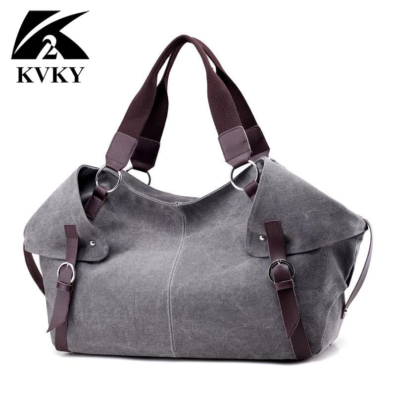 2017 Vintage Designer Canvas Women Bag Handbag Famous Brand Shopping Tote Female Large Capacity Lady Casual Main Bolsas Feminina