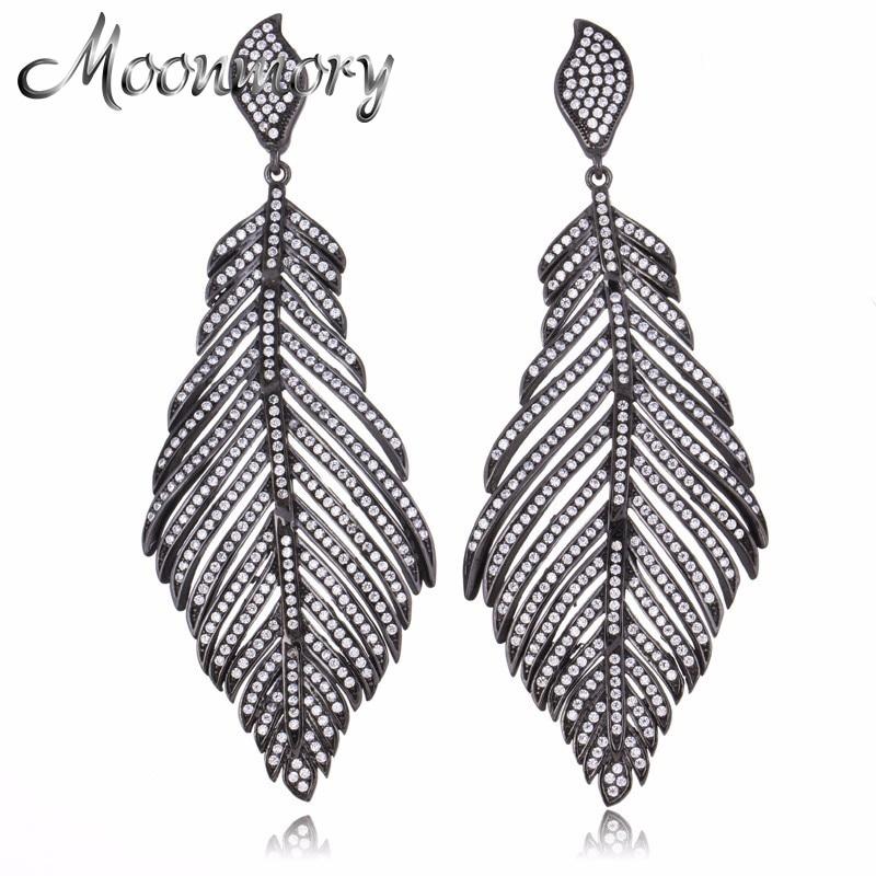 2017 Vintage Style 925 Sterling Silver Angel Wings Drop Earring For Women European Fashion Jewelry Long Drop Earring Wholesale fashion punk style silver plating alloy earring