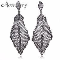 2017 Vintage Style 925 Sterling Silver Angel Wings Drop Earring For Women European Fashion Jewelry Long Drop Earring Wholesale