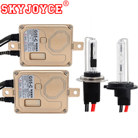 SKYJOYCE 55W Xenon Canbus H7RC Hid Kit Short 40MM H7CR 6000K Metal Base Xenon HID Kit
