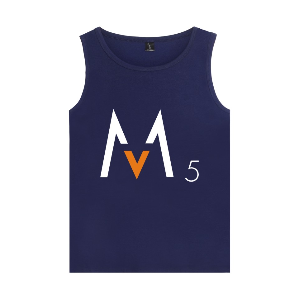 LUCKYFRIDAYF Rock Band Maroon Five Vest  Summer Sleeveless Shirt Bodybuilding Tank Top For  Maroon5 enthusiast Party Clothing