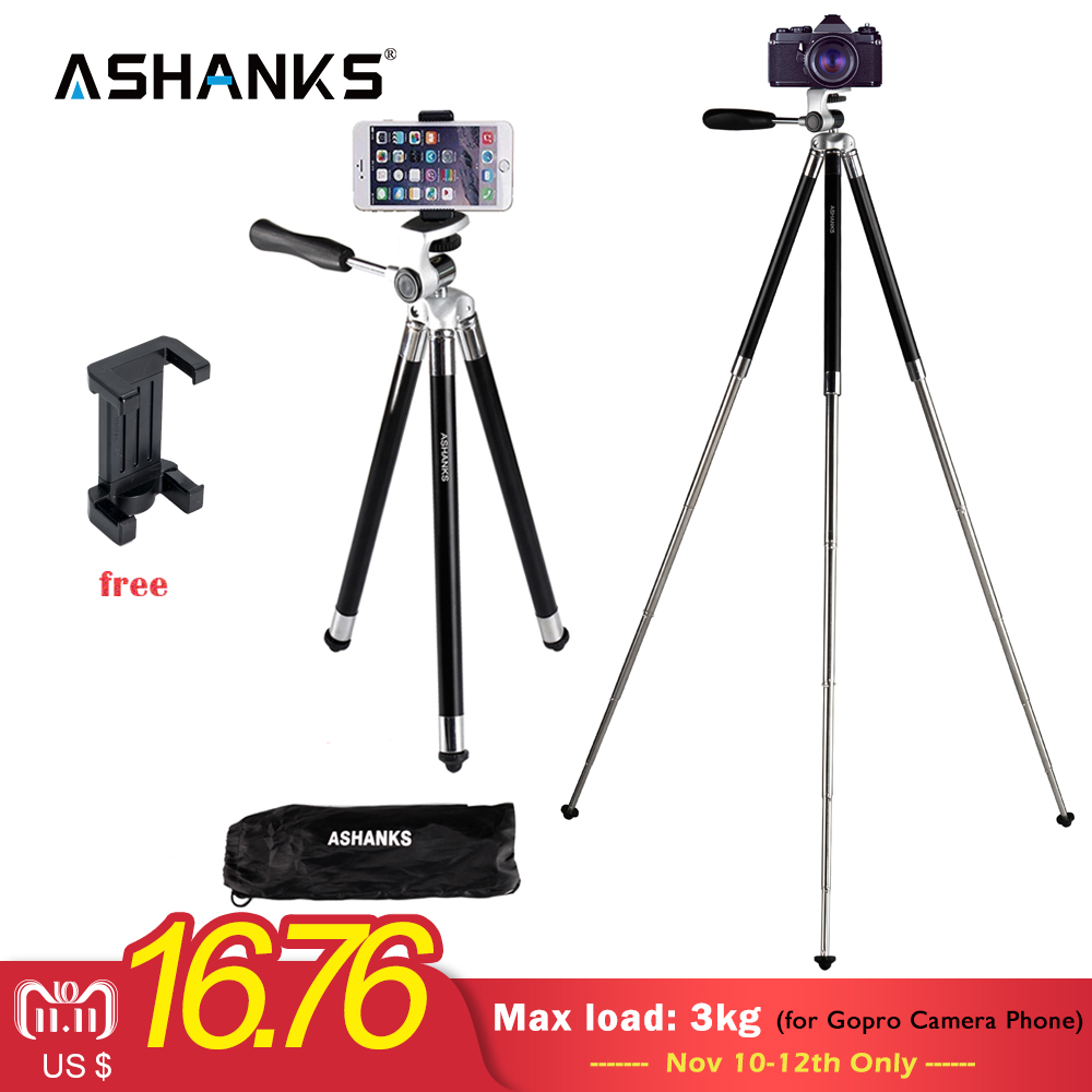 ASHANKS Mini Tripod for iPhone Samsung Xiaomi Huawei Mobile Phone Smartphone Ipad Tripod for Gopro Camera Accessory цена 2017